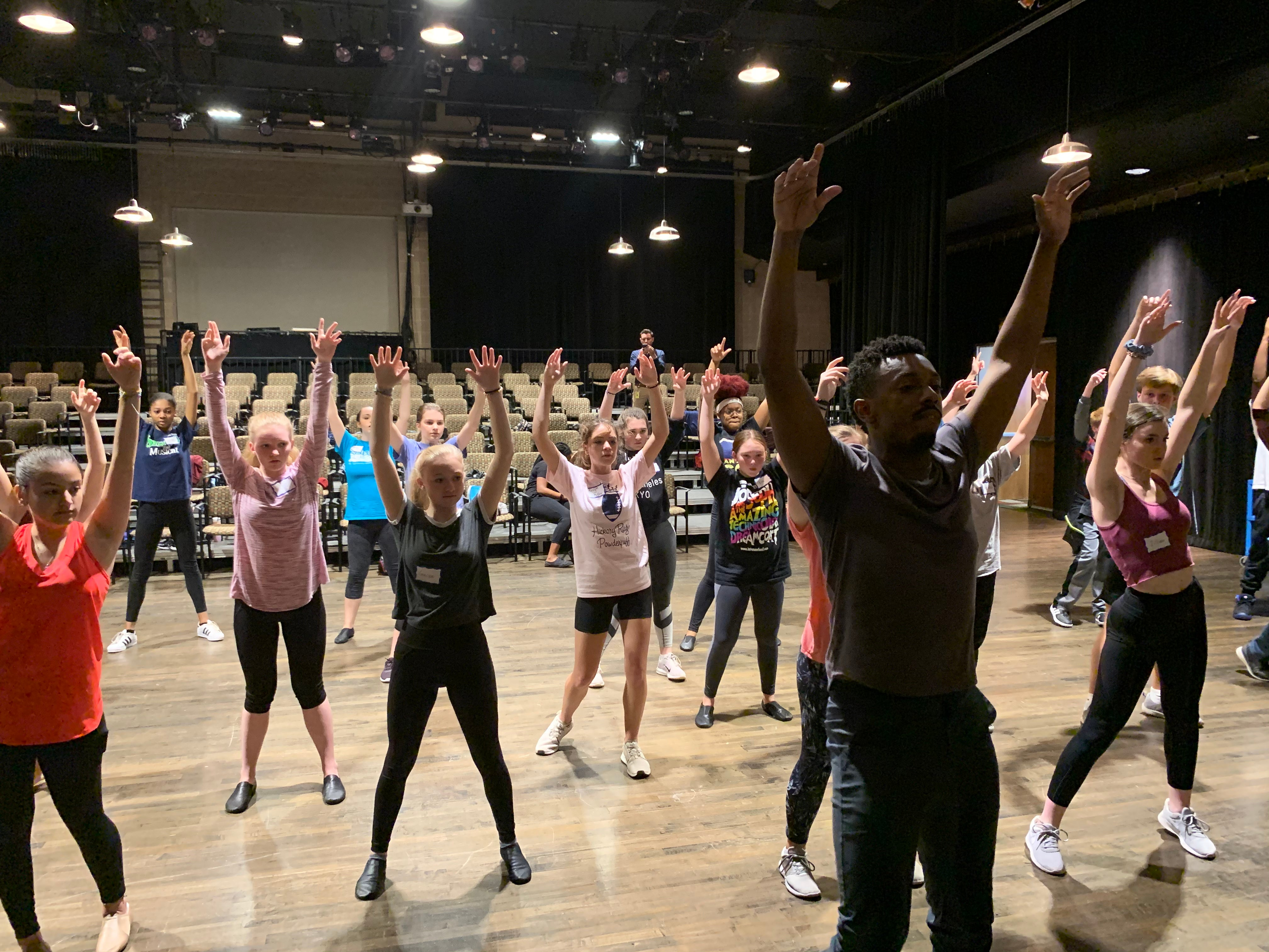 More Info for Broadway Actor Tyler McKenzie Fresh Off the National Tour of HAMILTON  Takes Time to Work with Local Students