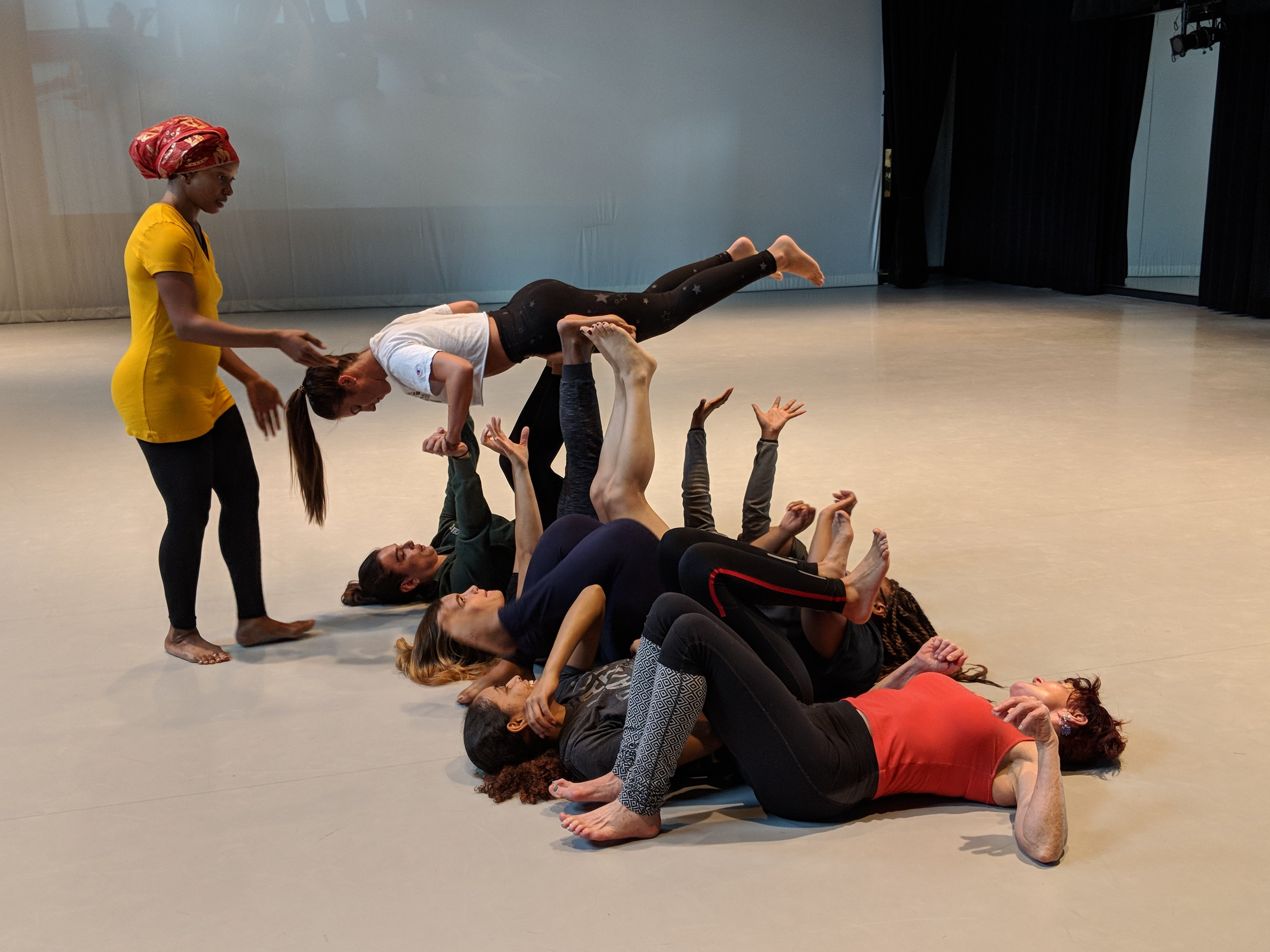 """More Info for UNCC Students Inspired By Opportunity to Dance with  LA-Based CONTRA-TIEMPO in """"joyUS justUS"""""""