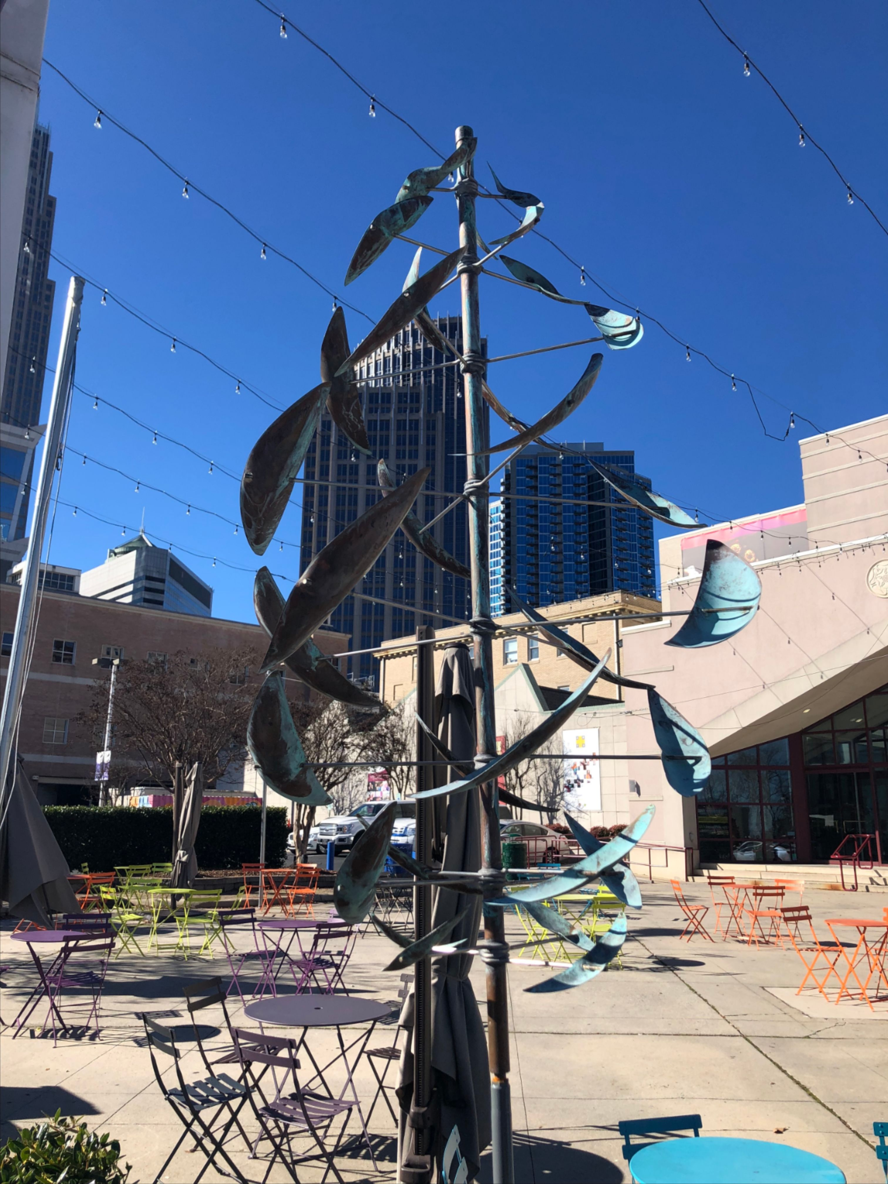 More Info for New Sculpture Garden at Spirit Square Celebrates Business Leaders' Commitment to Making the Arts Thrive in Charlotte