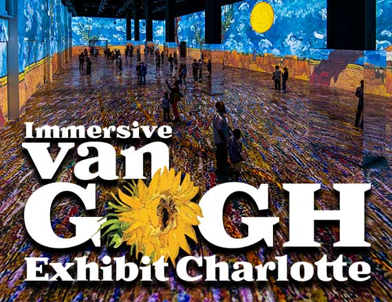 More Info for Blockbuster Immersive Van Gogh Exhibition to Make Southeast Debut in Charlotte