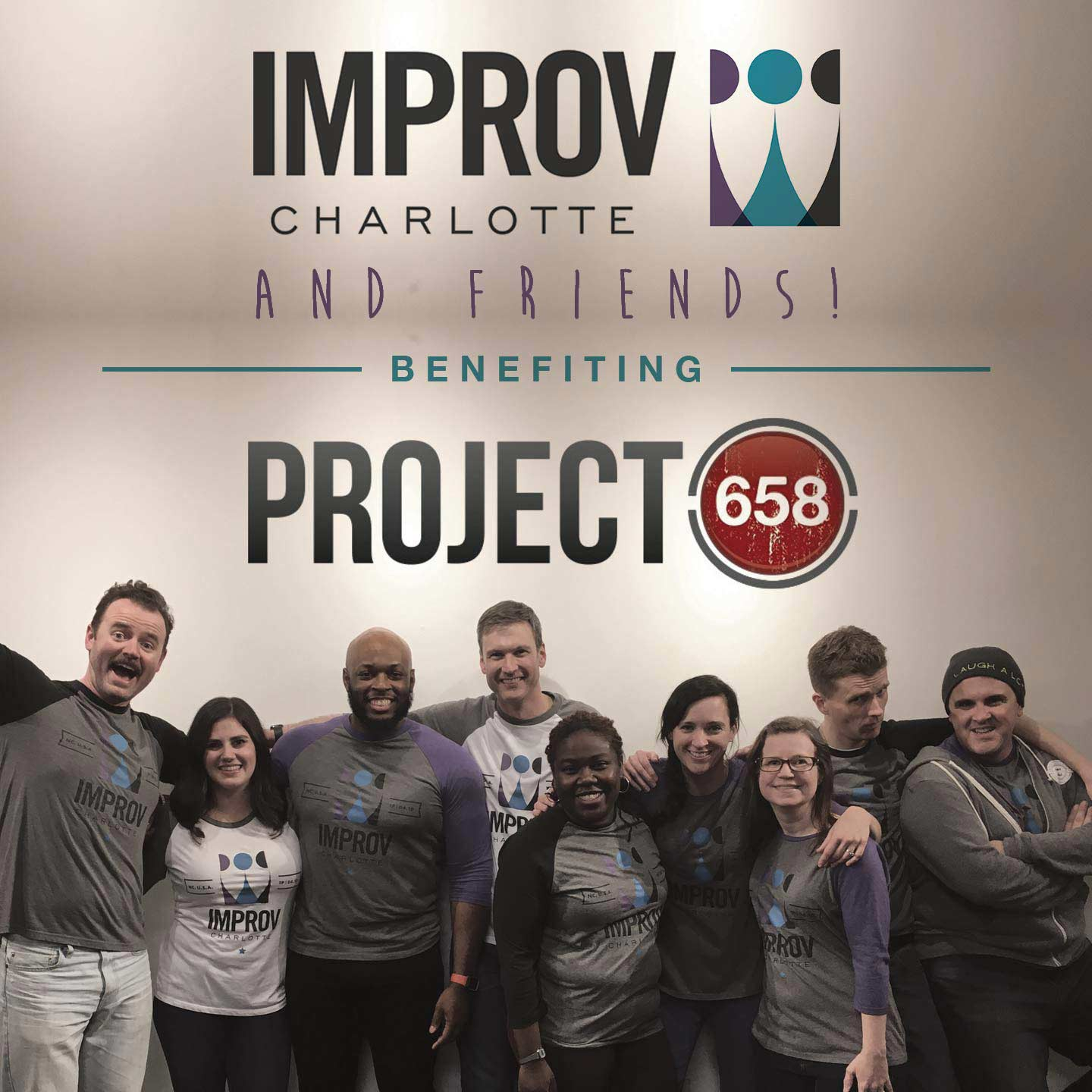 A Night of Improv & Stand Up Comedy to Benefit Project 658