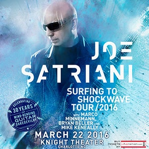 joe satriani from surfing to shockwave carolinatix. Black Bedroom Furniture Sets. Home Design Ideas