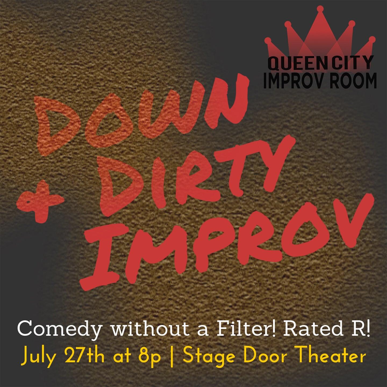 Queen City Improv Room: Down & Dirty Improv