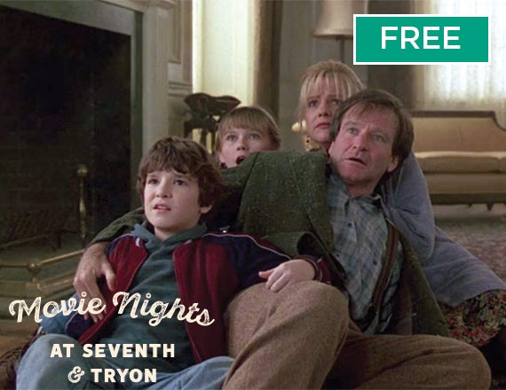 More Info for Movie Nights at Seventh & Tryon: Jumanji