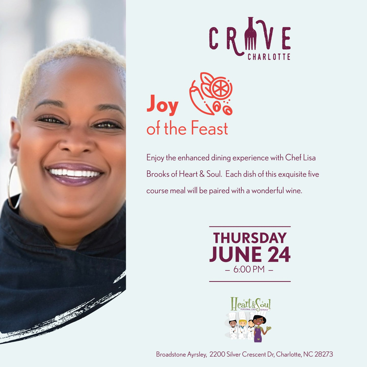 More Info for Crave Charlotte - Joy of the Feast