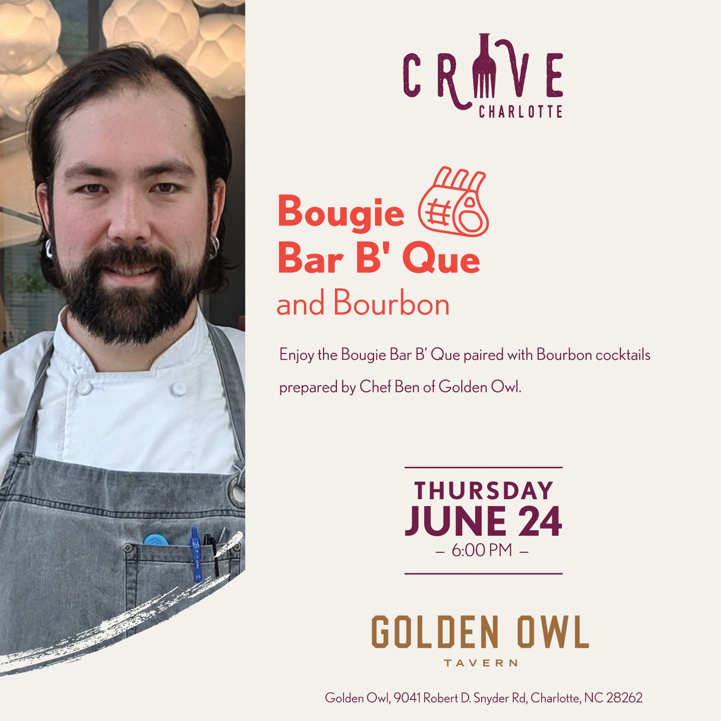 More Info for Crave Charlotte - Bougie Bar B' Que and Bourbon