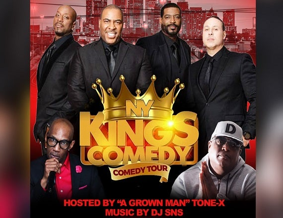 More Info for NY Kings of Comedy Tour Featuring Mark Vera, Talent, Rob Stapleton & Capone hosted by Tone X