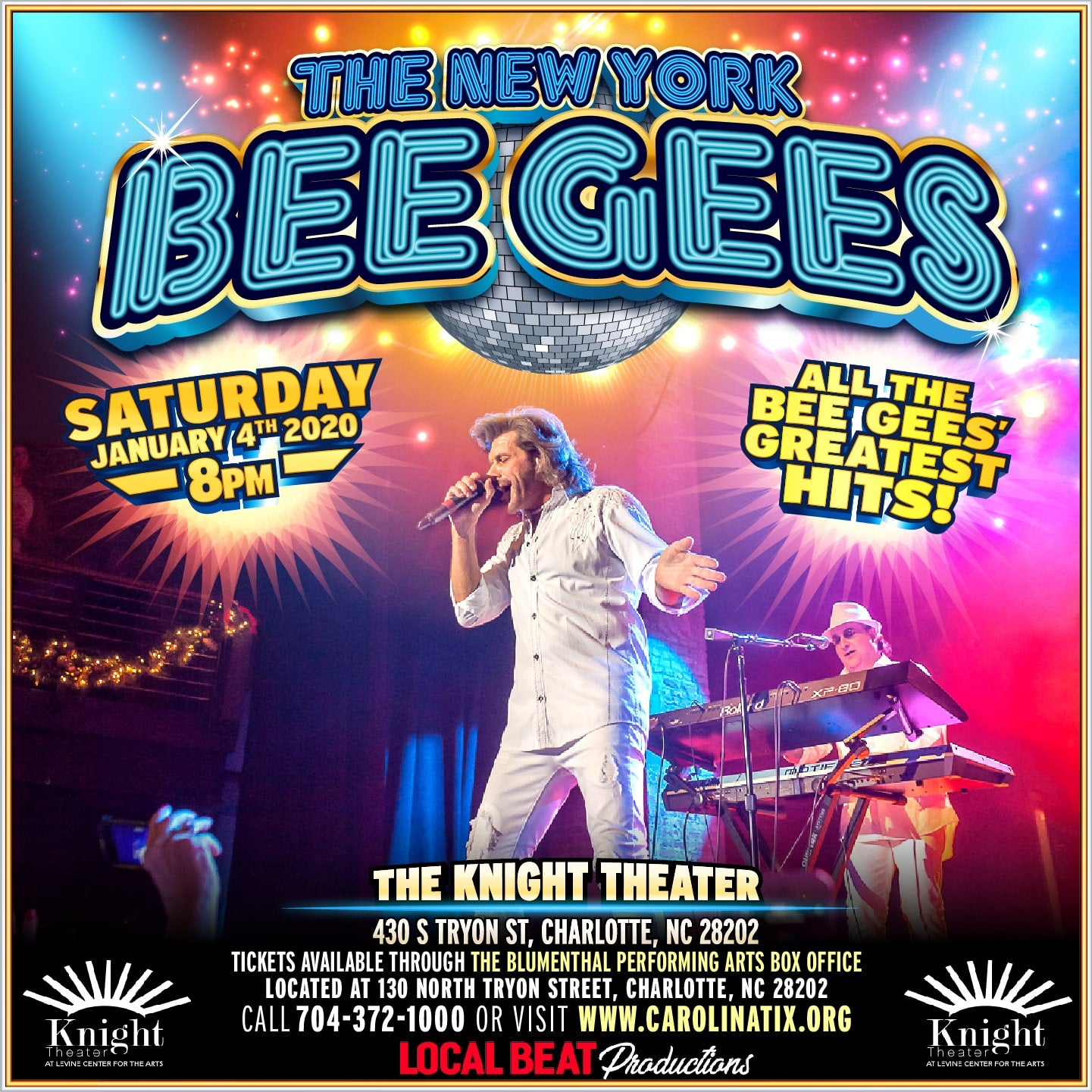 The New York BeeGee's Tribute Show: