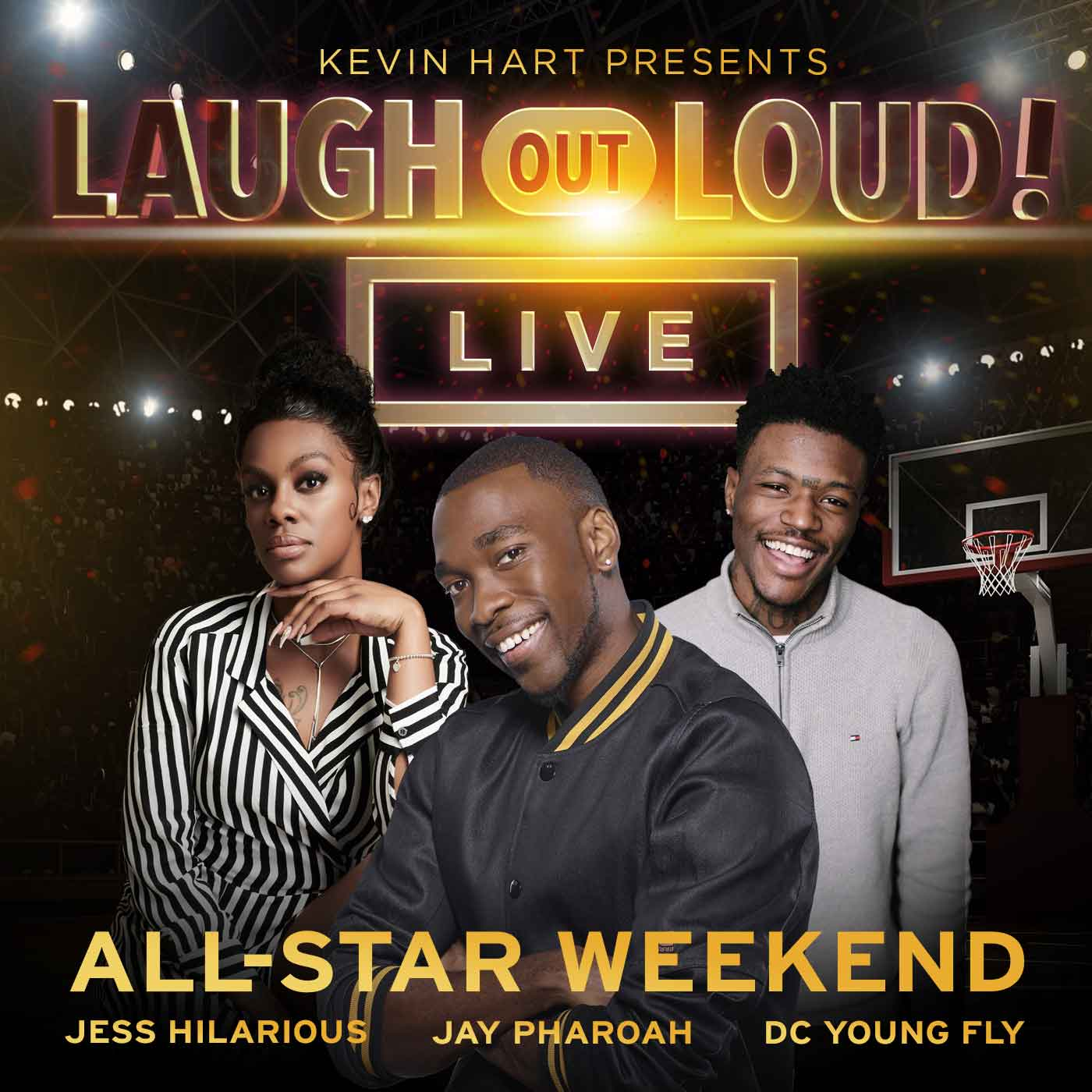 Kevin Hart Presents: Laugh Out Loud Live