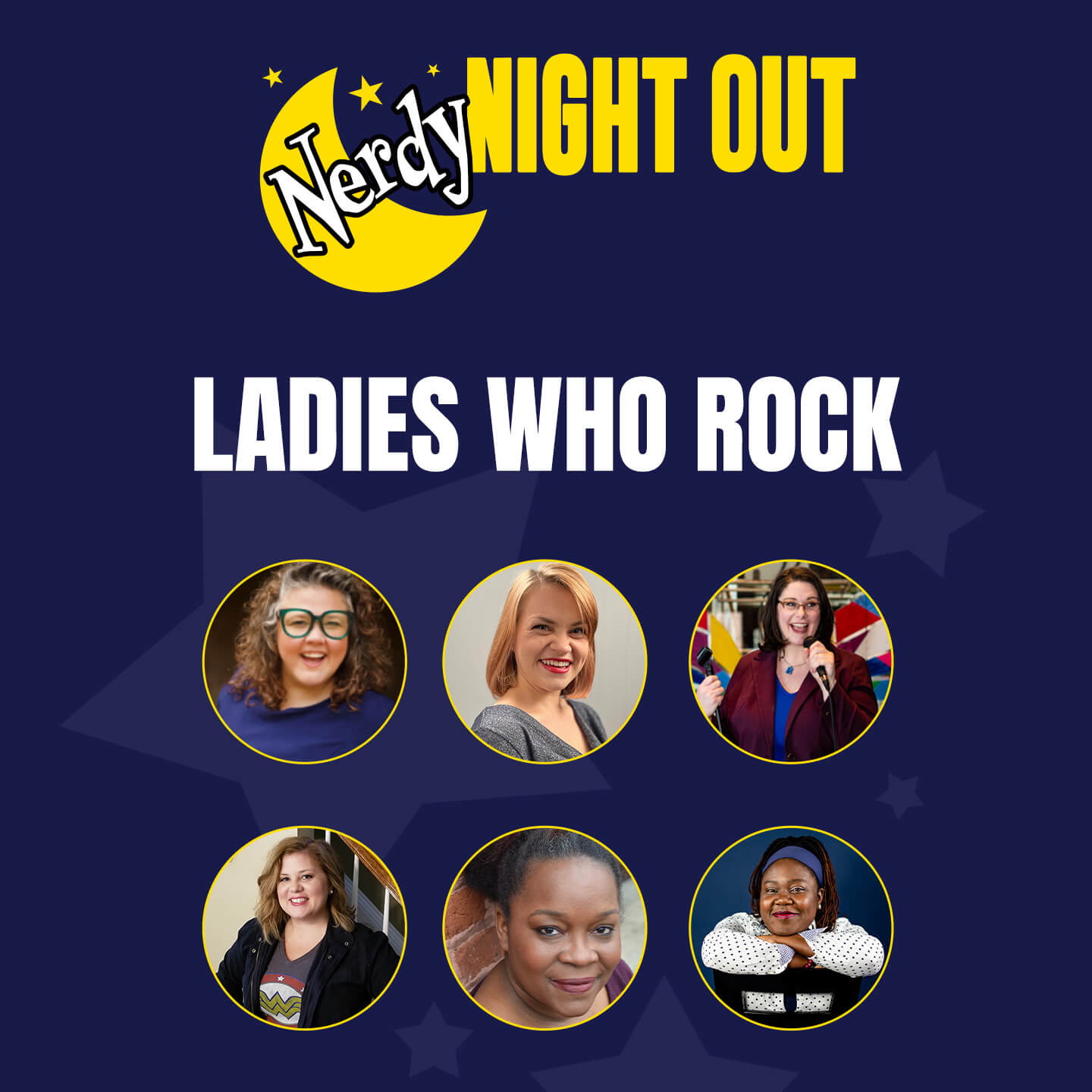 Nerdy Night Out: Scary Ladies Who Rock