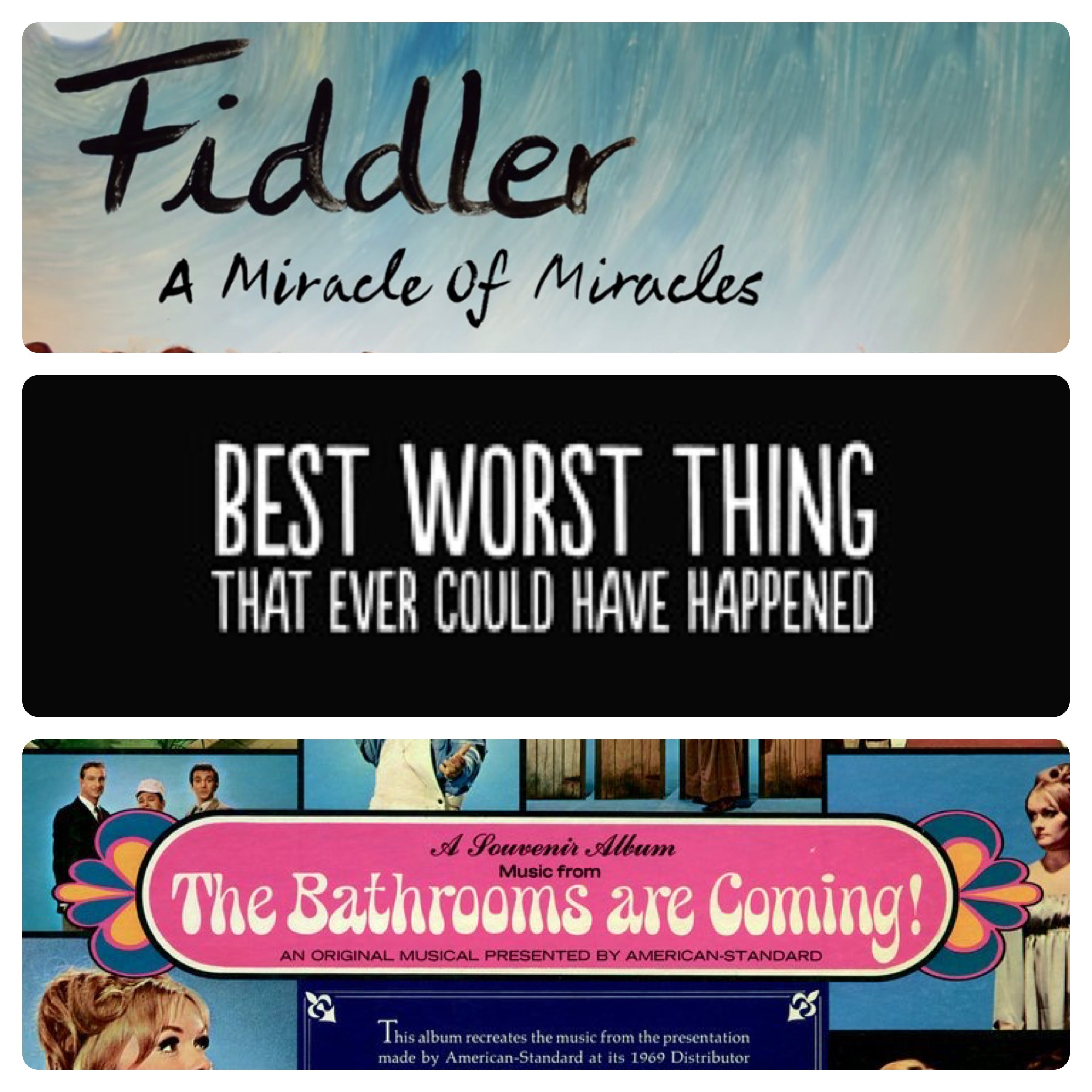 More Info for Three Fabulous Broadway Documentaries - Seriously - you don't want to miss them!