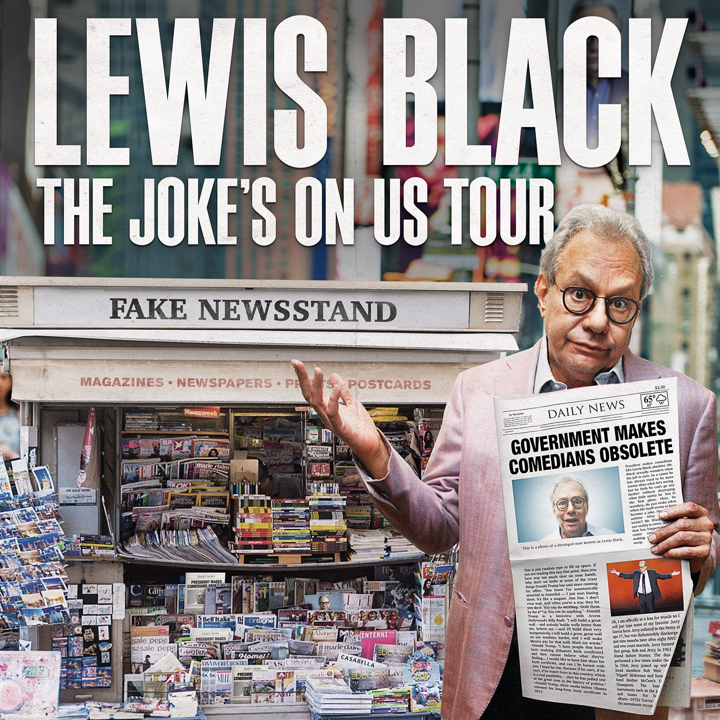 Lewis Black: The Joke's On US Tour