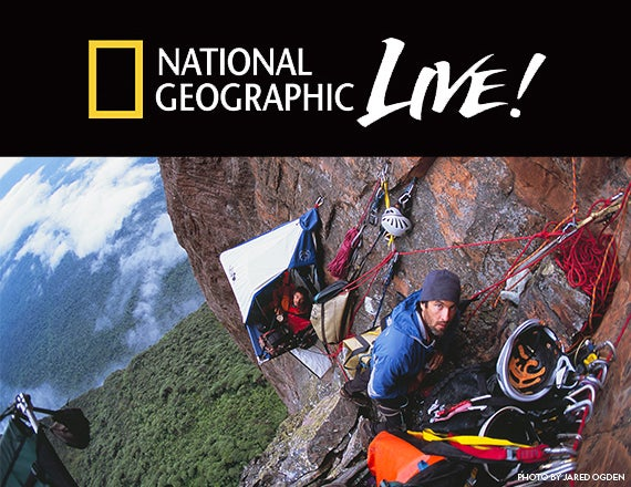 More Info for National Geographic Live: Life on the Vertical
