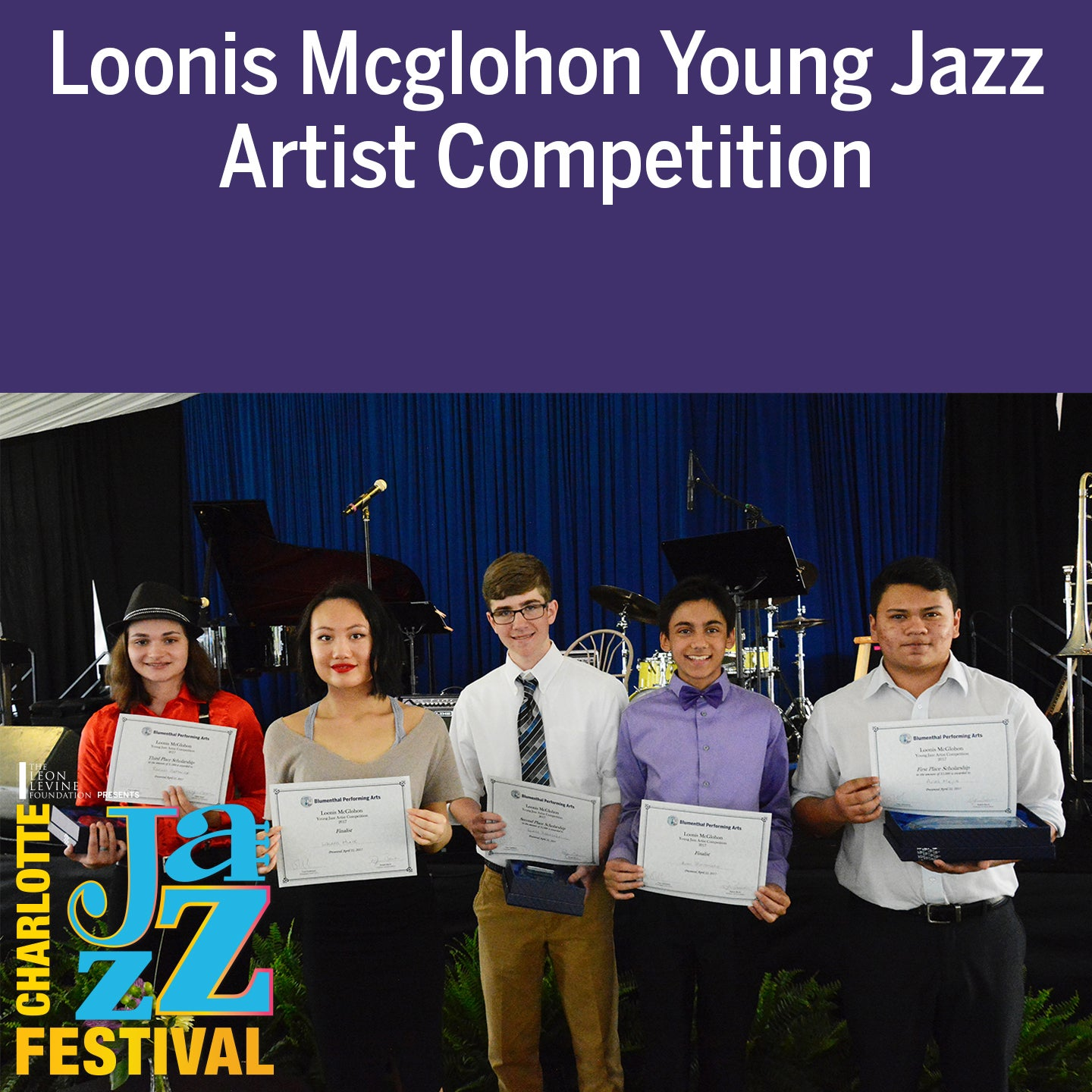 Loonis McGlohon Young Jazz Artist Competition