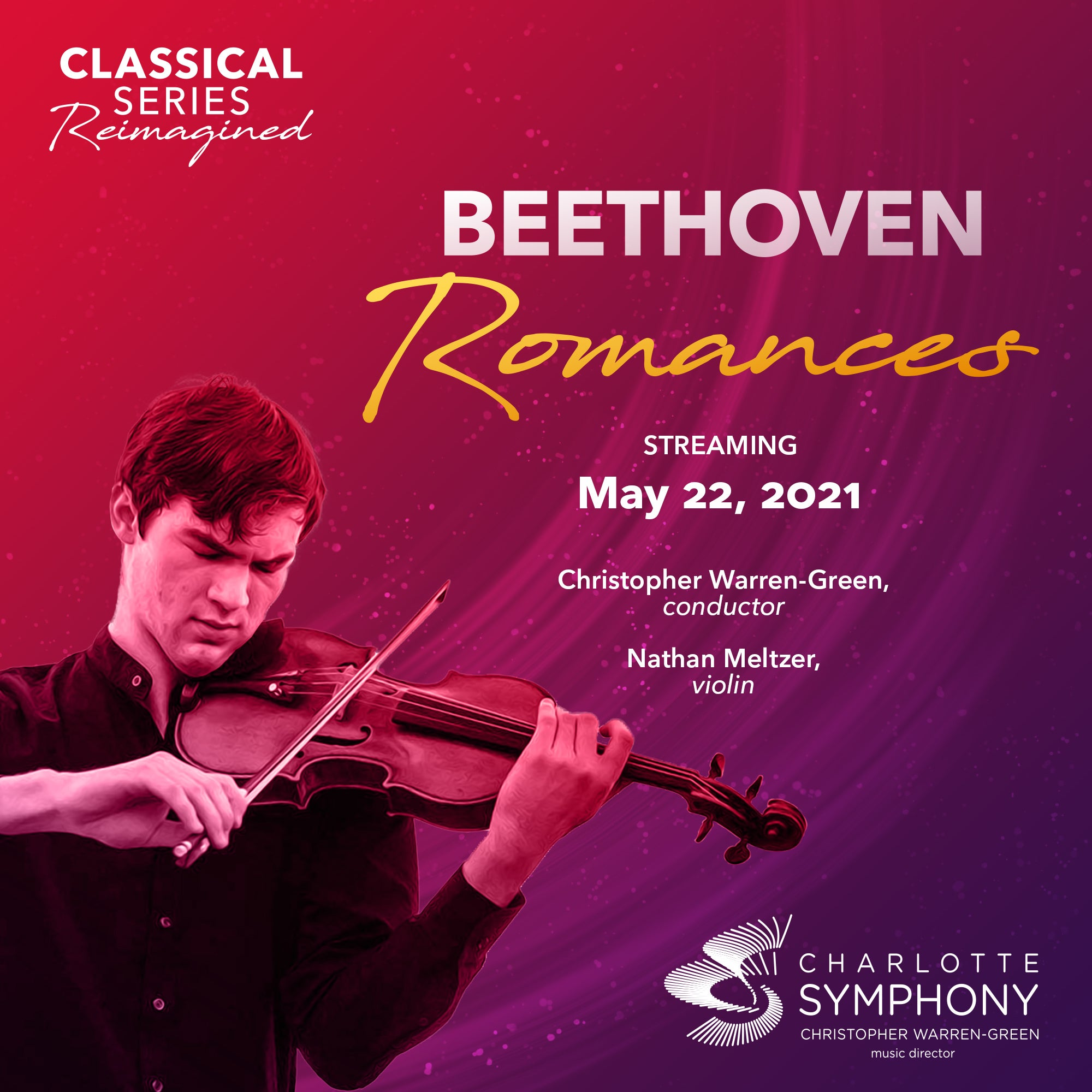 Charlotte Symphony: Beethoven Romances