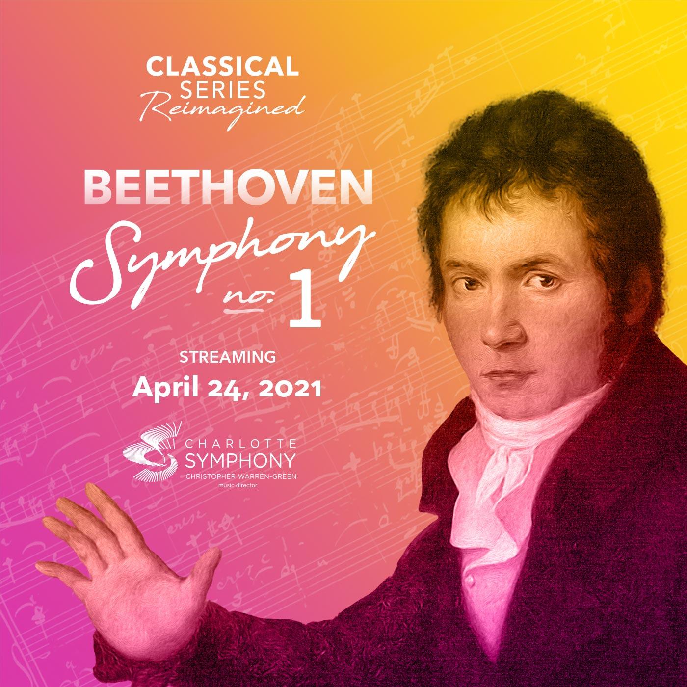 Charlotte Symphony: Beethoven Symphony No. 1