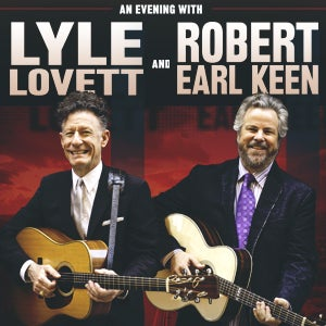 More Info for Join Lyle Lovett and Robert Earl Keen on 'This Old Porch'