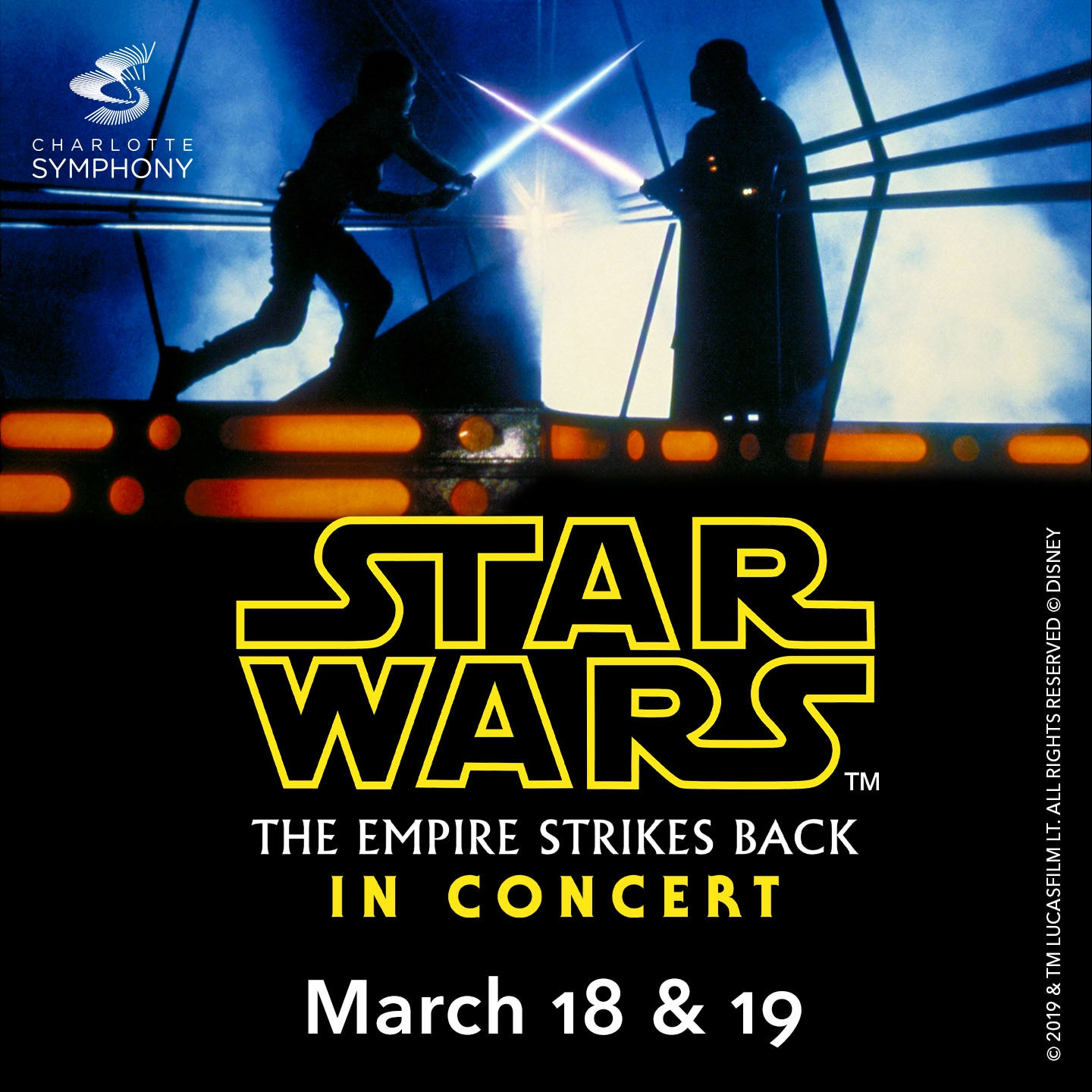 Charlotte Symphony Orchestra presents Star Wars: The Empire Strikes Back in Concert