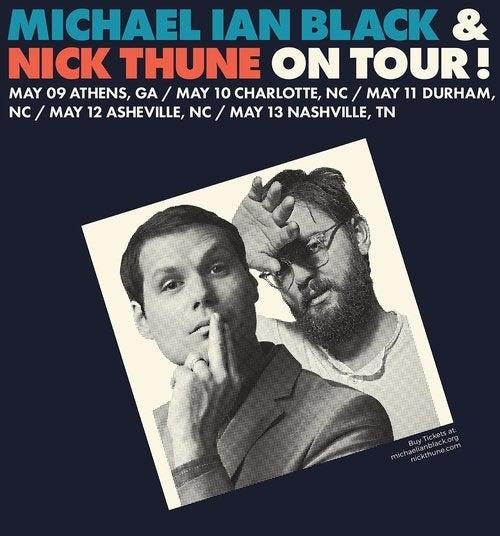 Michael Ian Black and Nick Thune
