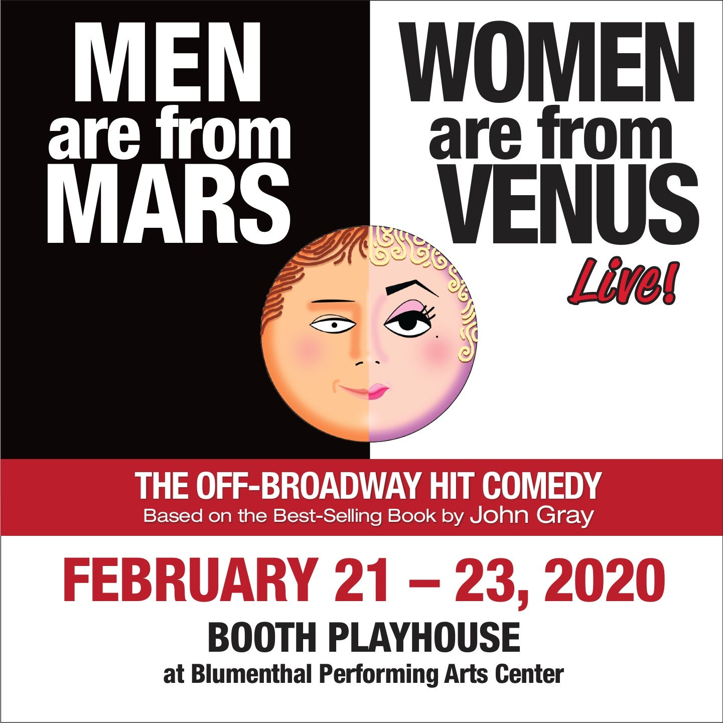 Men are from Mars Women are from Venus - LIVE