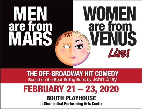 More Info for Men are from Mars Women are from Venus - LIVE