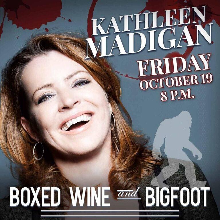Kathleen Madigan: Boxed Wine & Bigfoot