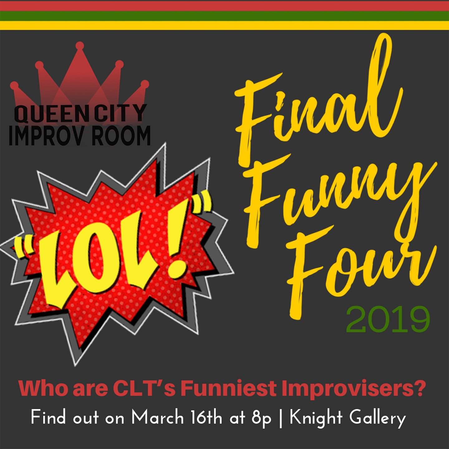 Queen City Improv Room: Final Funny Four 2019