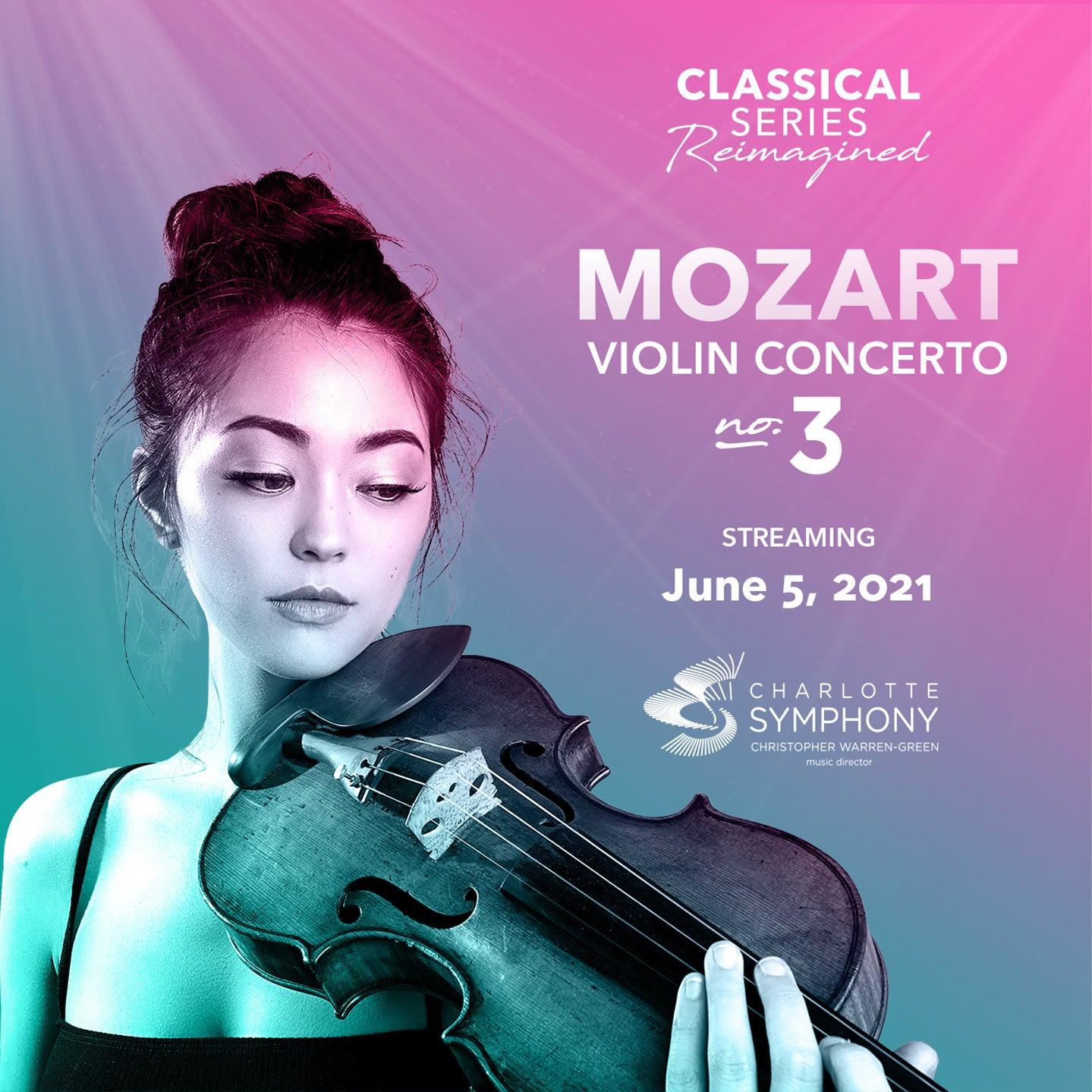 Charlotte Symphony: Mozart Violin Concerto No 3