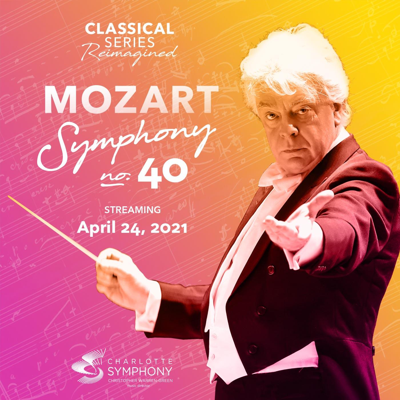 Charlotte Symphony: Mozart Symphony No. 40