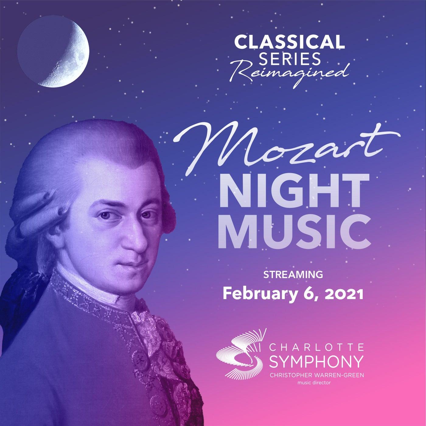Charlotte Symphony: Mozart Night Music