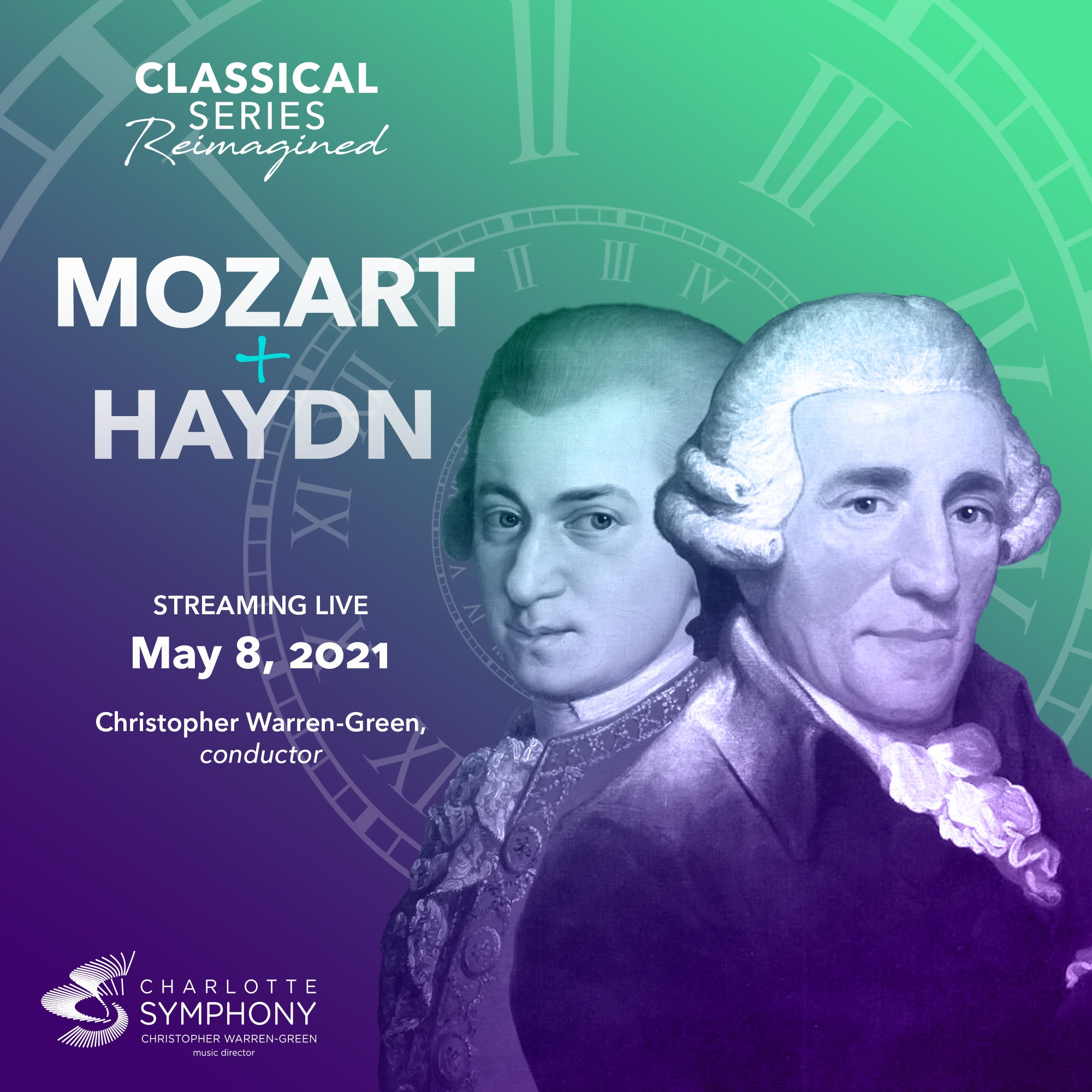 Charlotte Symphony: Mozart + Haydn