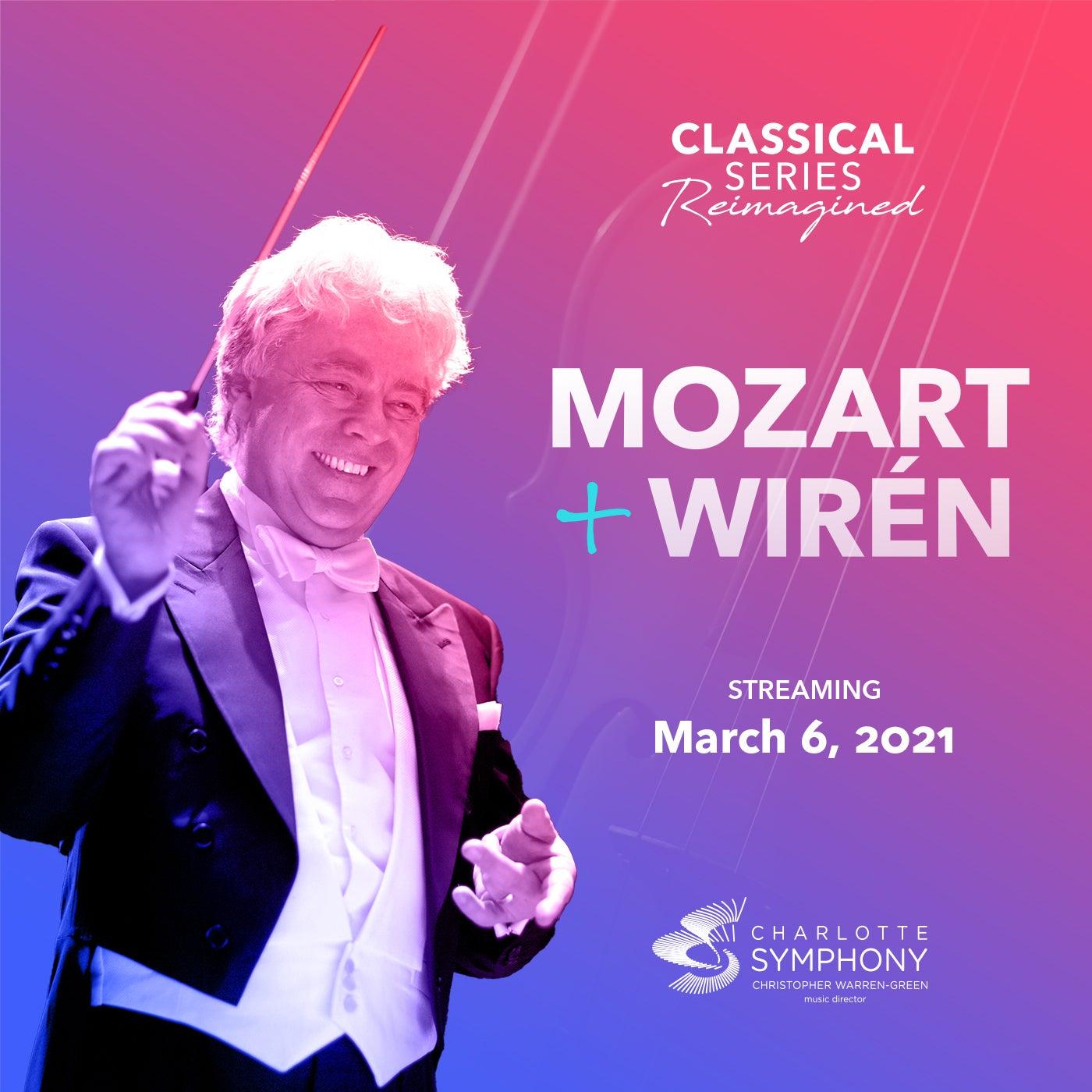 Charlotte Symphony: Mozart + Wirén