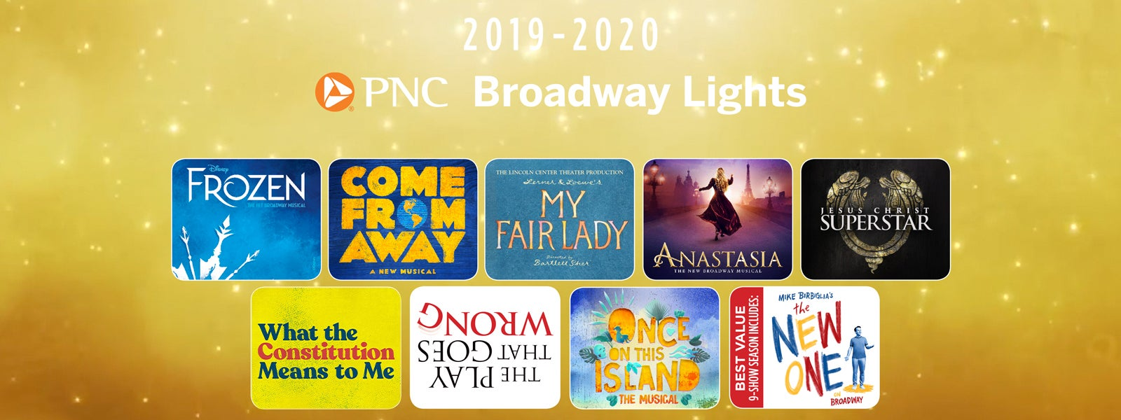 Blumenthal Schedule 2020 PNC Broadway Lights | Blumenthal Performing Arts
