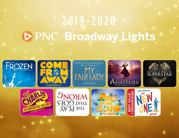 More Info for PNC Broadway Lights Announces New Season Including  Disney's Frozen, and Tony® Award Winners  Once on This Island and Come From Away