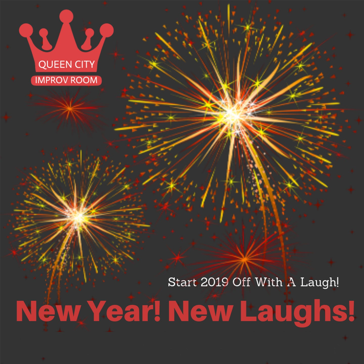 Queen City Improv Room: New Year, New Laughs!