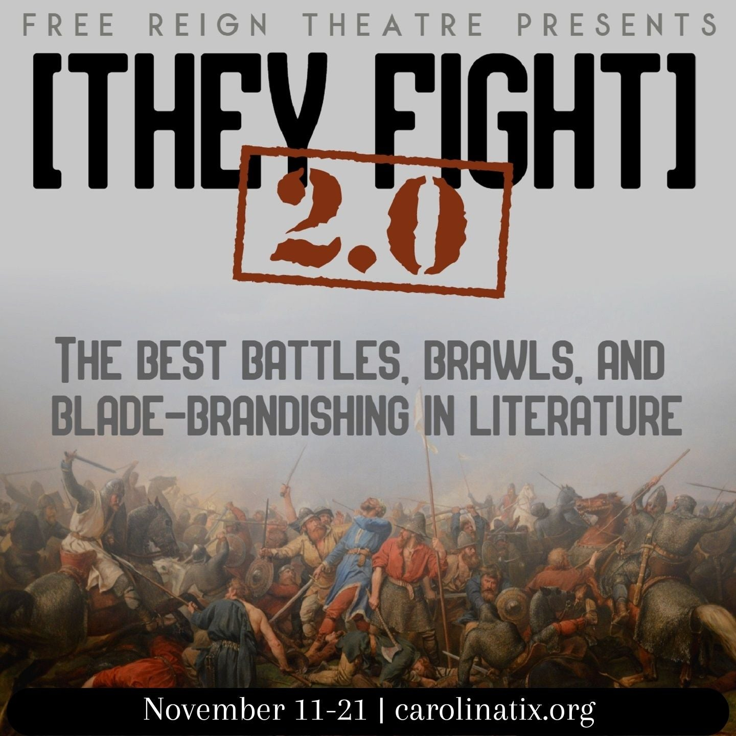 [They Fight] 2.0: the best fights in literature