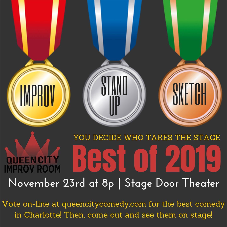 Queen City Improv Room: Best of 2019 Show