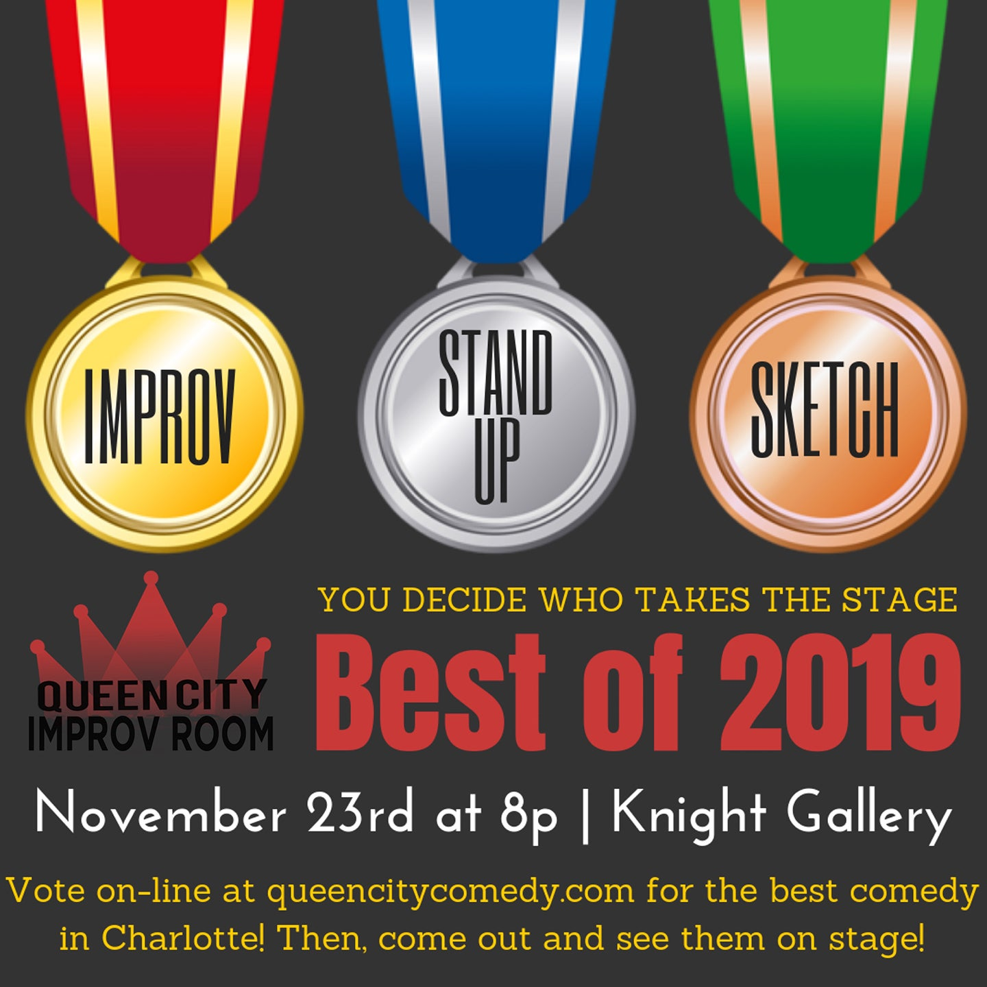 Queen City Improv Room: Best of 2019 Show