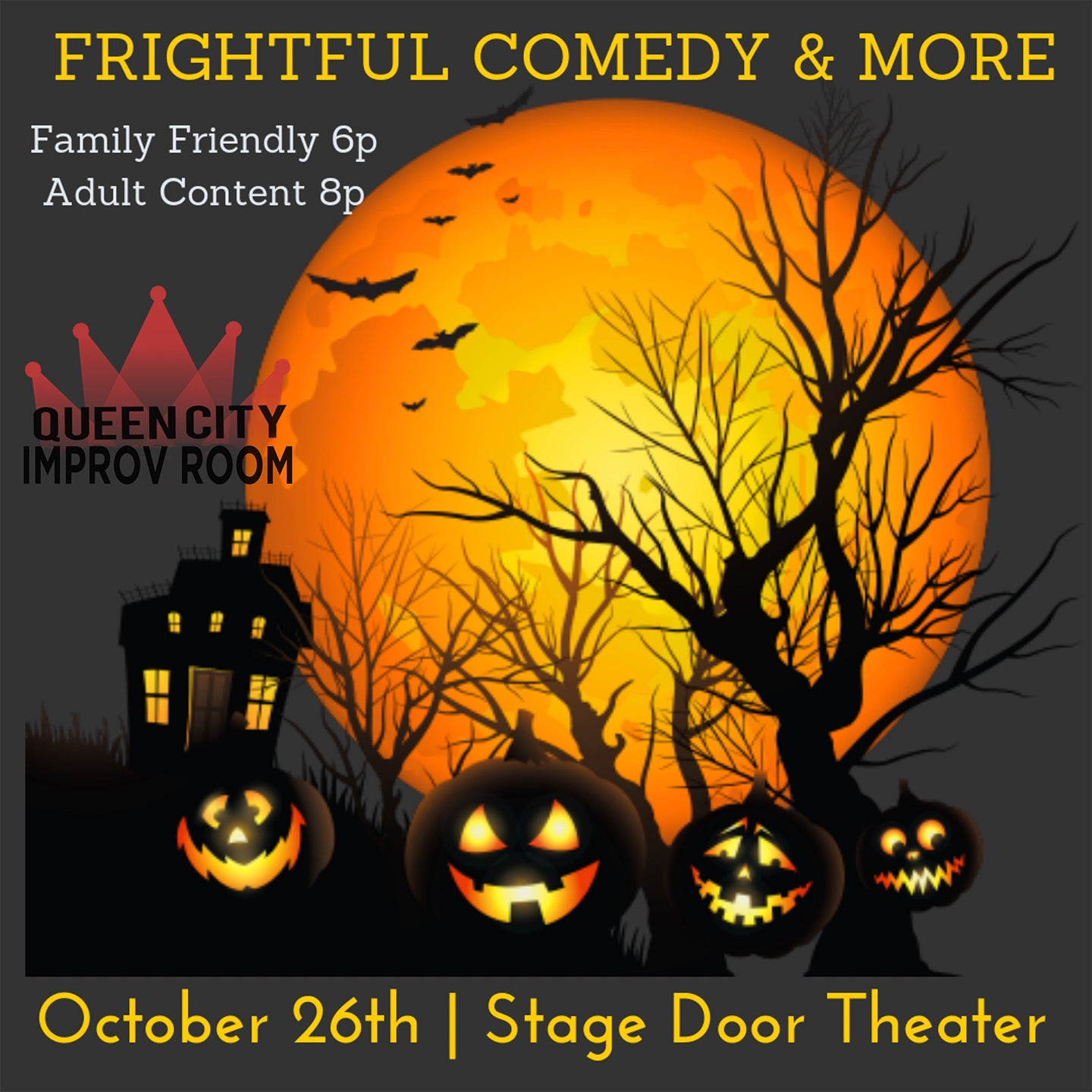 Queen City Improv Room: Family Friendly Halloween