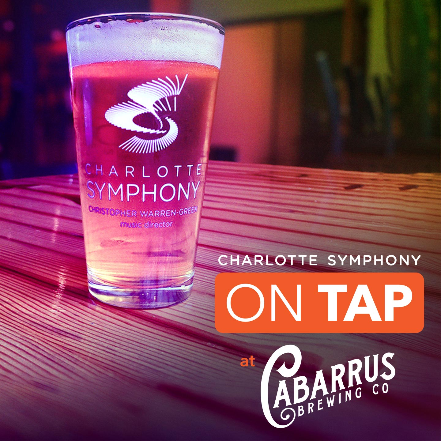 Charlotte Symphony: CSO On Tap @ Cabarrus