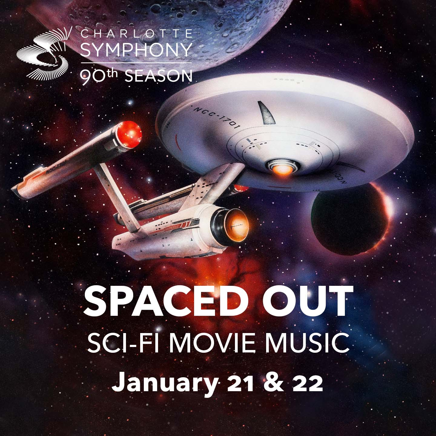 Charlotte Symphony Orchestra presents Spaced Out
