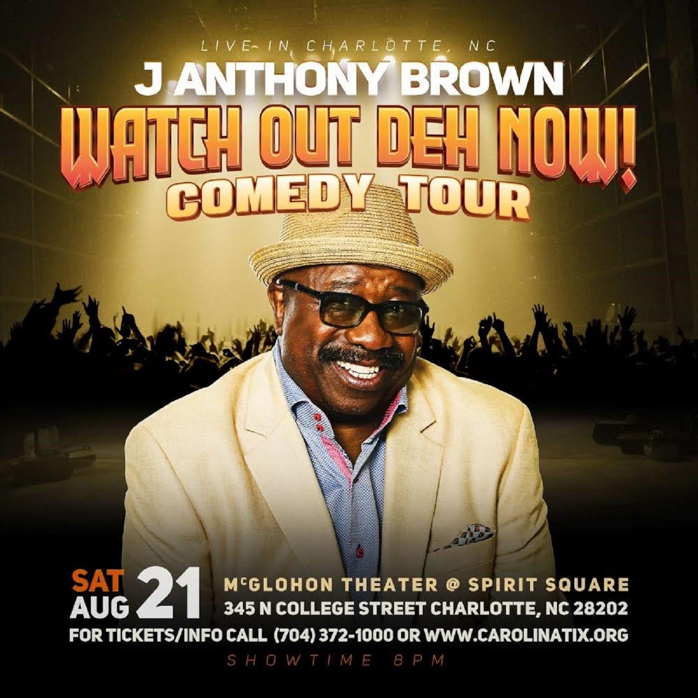 J Anthony Brown Watch Out Deh Now!
