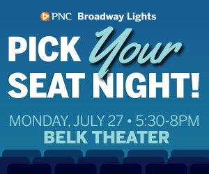 Pick Your Seat Night