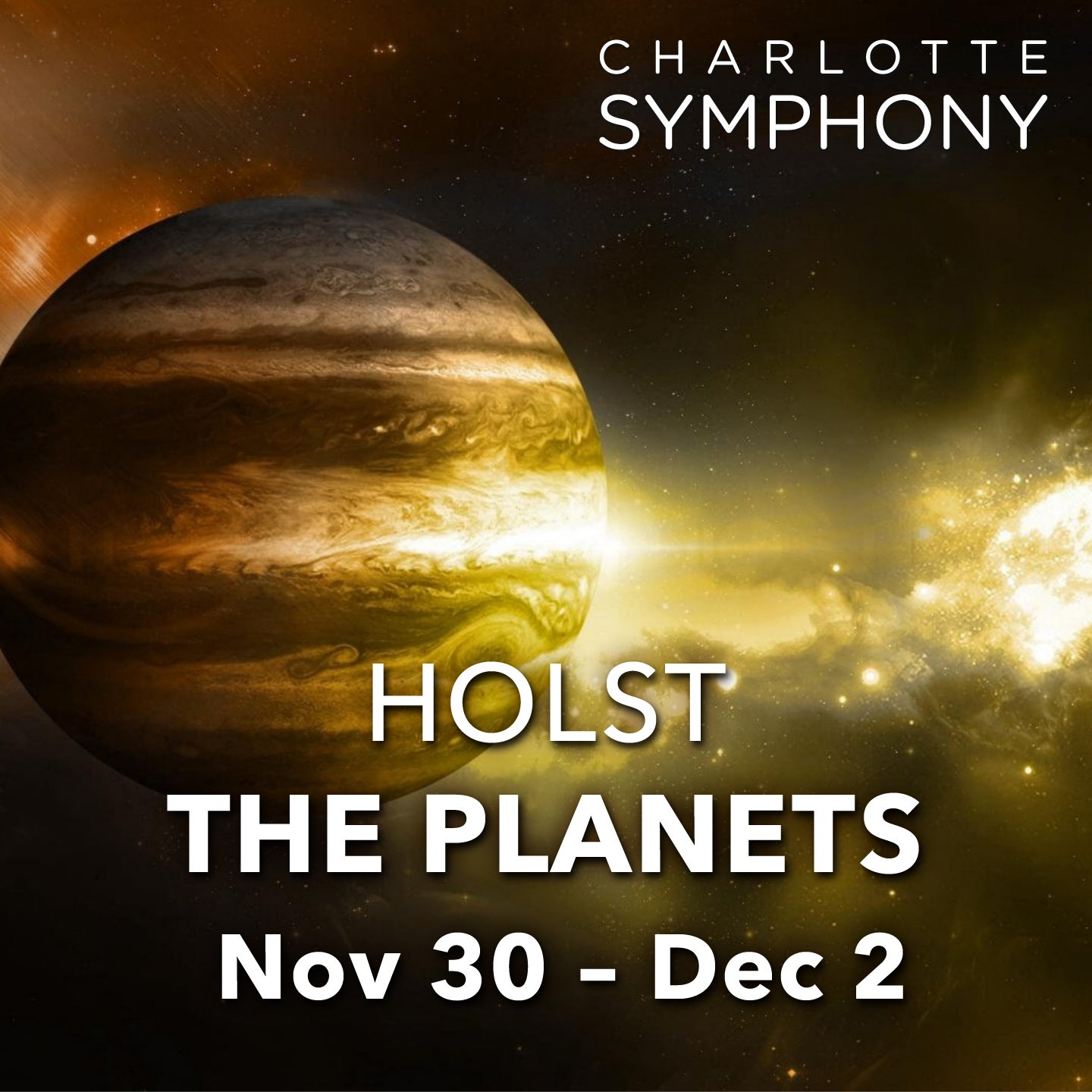 Charlotte Symphony: Holst: The Planets