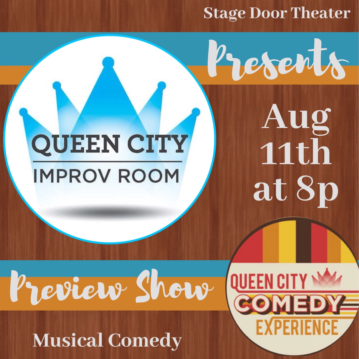 Queen City Improv Room:  Comedy Experience Preview Show