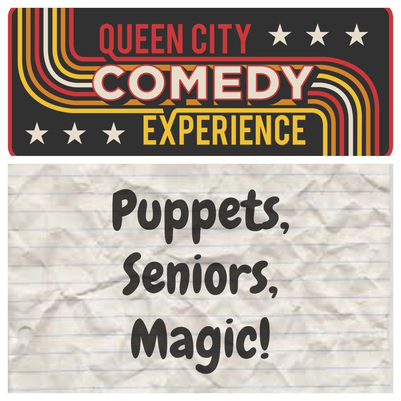 Puppets, Seniors & Magic