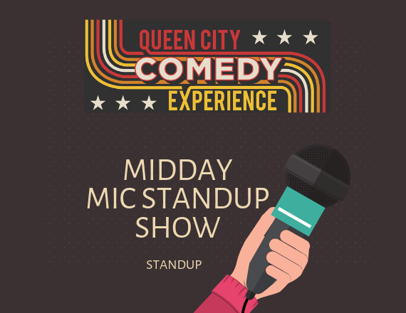 More Info for Midday Mic Stand Up