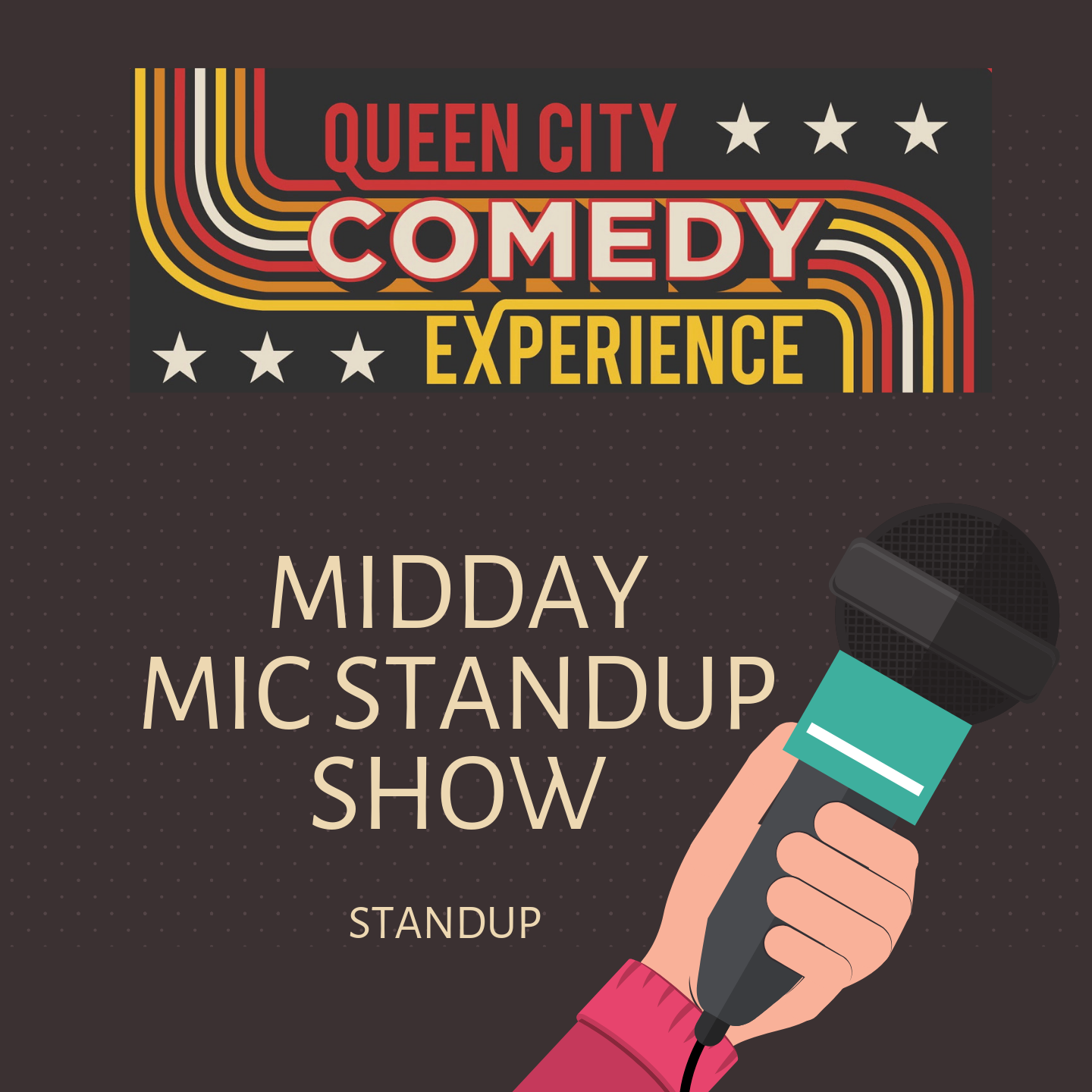 Midday Mic Stand Up