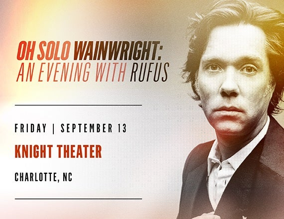 More Info for Rufus Wainwright