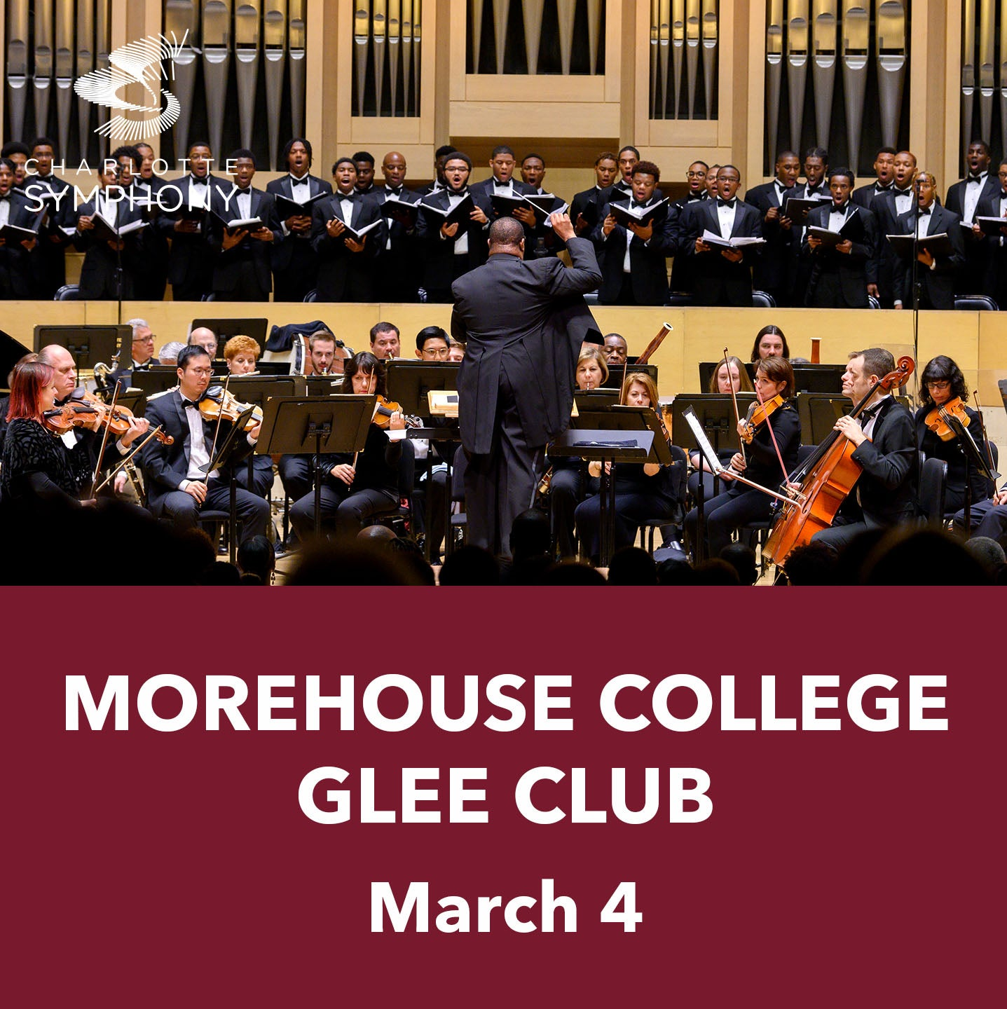 Charlotte Symphony Orchestra presents Morehouse College Glee Club